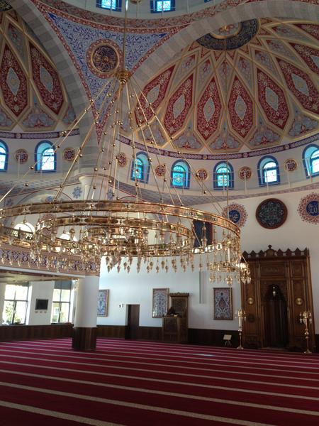Bild der Pollmann Merkez Moschee Duisburg (DITIB)