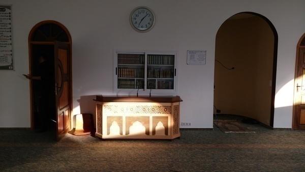 Bild der Hassan Moschee Frankfurt-Höchst