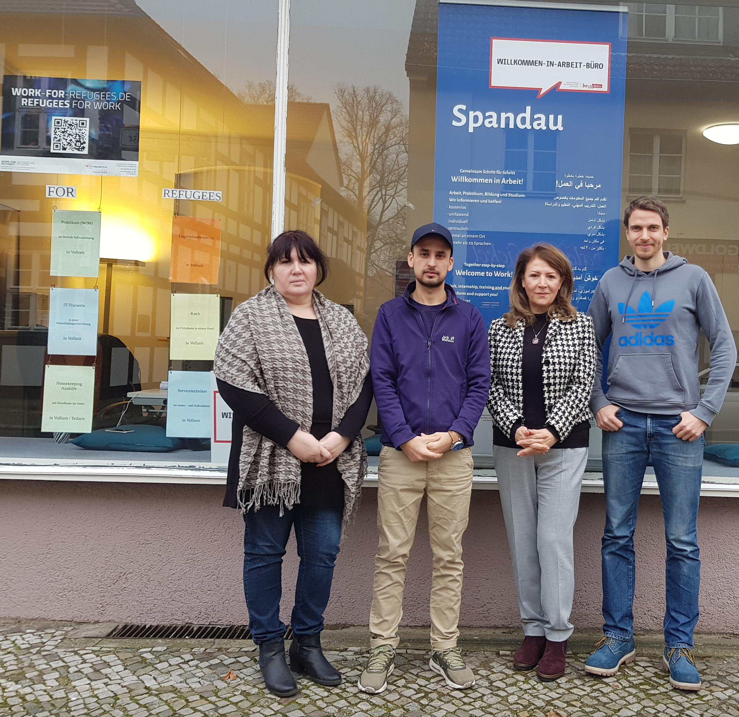 Das Willkommen In Arbeit Buro Spandau Ruckblick 2017 Und Ausblick